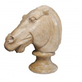 Marble Horse Head -tomorrows Antiques