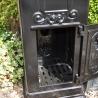 Post Box; Aluminium Black 2 Door