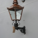 Small Wall Lamp Copper Top
