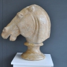 Equine Head Marble Hand Carved