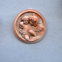 Small Terracotta wall plaque