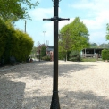 Street light Victorian style street light in cast iron , Medium  3m 30cm high