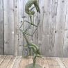 Life is a balance bronze contemporary sculpture