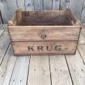 Vintage Krug Crate wooden