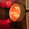 Perfumed tinned candles large