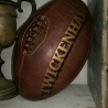 Twickenham Rugby Ball in leather full-size