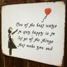 Happy Sign (after Bansky)