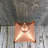 Copper colour Top Lamp Lantern
