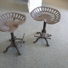 Tractor seat  industrial style Stool