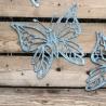metal Lazer cut butterflies decorative wall art