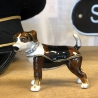 collectable enamel terrier  dog pill box