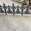 Terrace Railing Cast Aluminum