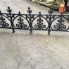 Terrace Railing Cast Iron