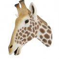 Giraffe head in resin wall mounted