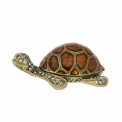Collectable Tortoise enamel pill box