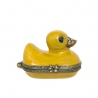 Collectable Rubber Duck enamel pill box