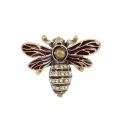 Collectable Bee enamel pill box