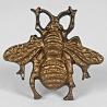 Bee Drawer knob in brass